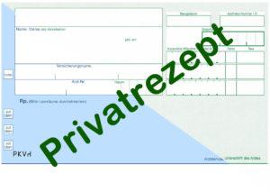 mit Privatrezept